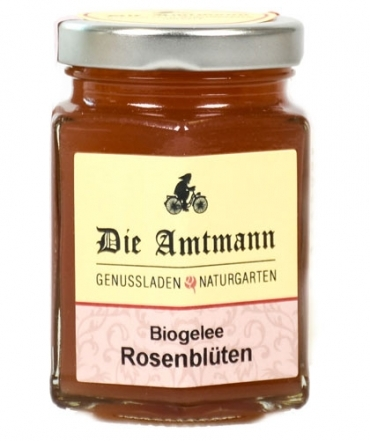 Bio-Rosenblütengelee